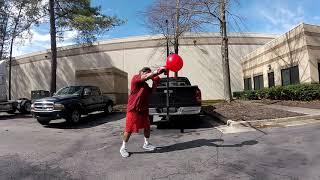 Boxing Training on lunch break