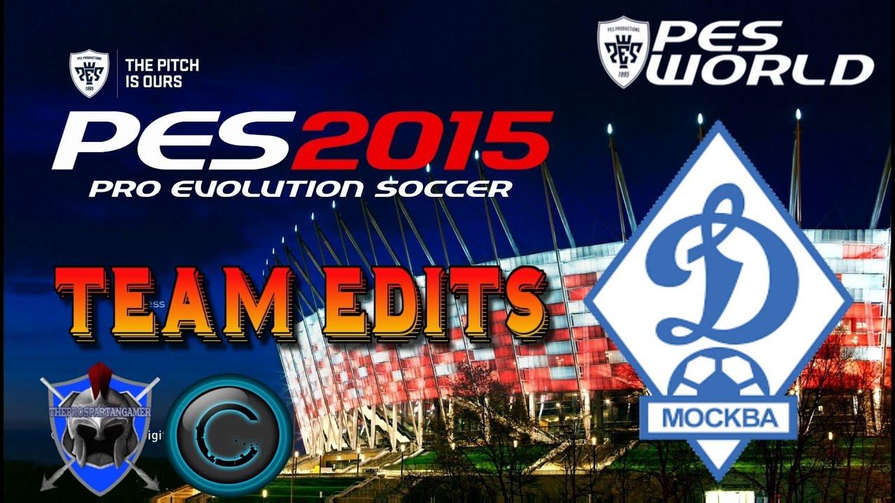 Dynamo Moscow Kit Pes 2015 Kit Editing Dynamo