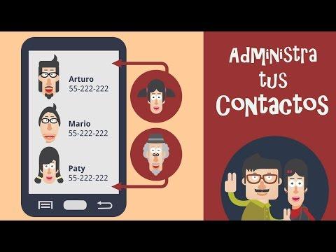 ¿Cómo agregar. editar y eliminar contactos en android?