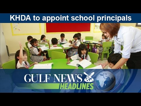 KHDA to appoint school principals - GN Headlines