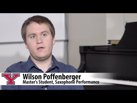 Student Spotlight: Wilson Poffenberger, YSU Music Master's Student