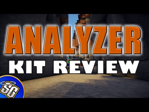 MCPVP.com   Review #48 ANALYZER Kit Review   Minecraft Hardcore Games