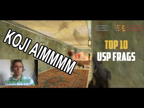 LIK NIJE NORMALAN - TOP 10 usp frags **REAKCIJA**