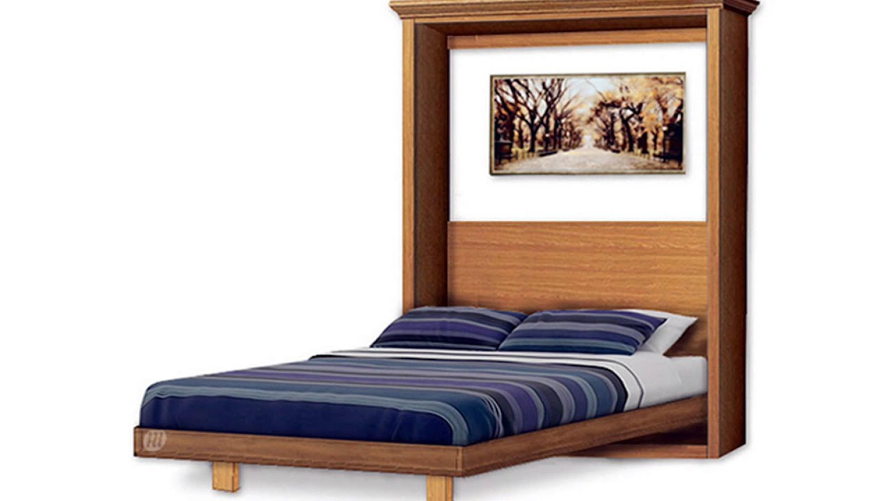 Build murphy wall bed yourself under 300 by plans design youtube - Bed design pics ...