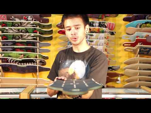 Longboard Review: Bustin Robot - motionboardshop.com