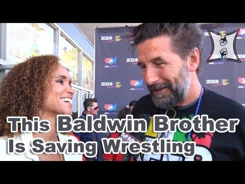 Actor Billy Baldwin on How To Make Olympic Wrestling More Sexy