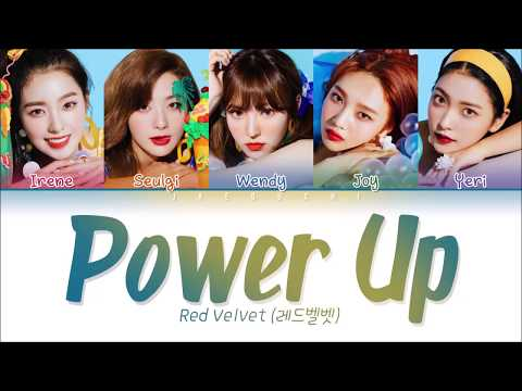 Download Lagu  RED VELVET 레드벨벳 - 'POWER UP' s Color Coded Eng/Rom/Han/가사 Mp3 Free