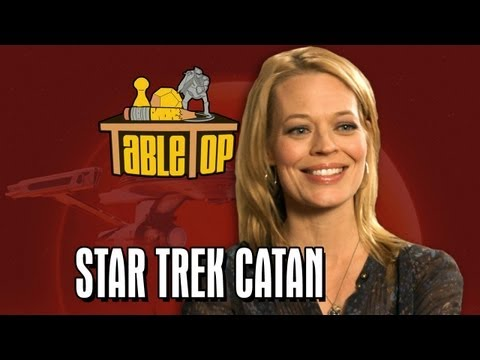 Star Trek Catan: Jeri Ryan, Kari Wahlgren, and Ryan Wheaton join Wil on TableTop SE2E08