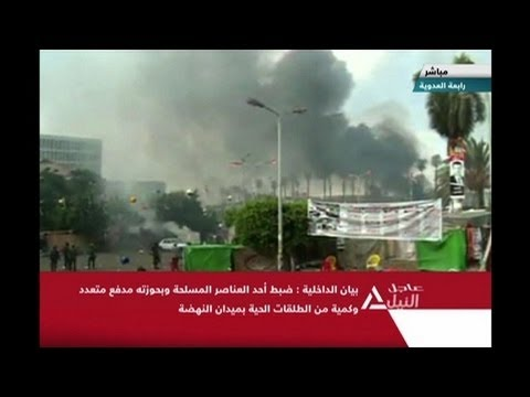 Dozens dead as police raid pro-Morsi Cairo protests