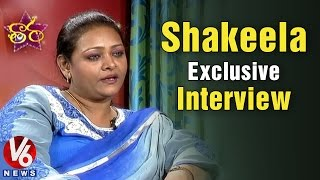 Shakeela exclusive interview - V6 Taara (01-03-2015)