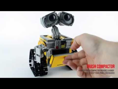 LEGO Wall-E 21303 Ideas Review & Speed build - Jadlam.com