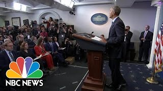 President Obama Praises Free Press: 'Our Democracy Needs You' | NBC News