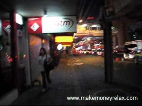 Me And My Girlfriend Walking In Sukhumvit Bangkok –She Is Really Hot Thai Girl – Part 1
