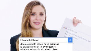 Elizabeth Olsen Answers the Web