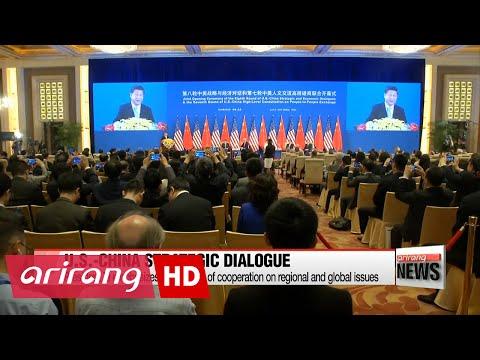 8th U.S.-China Strategic and Economic Dialogue kicks off in Beijing