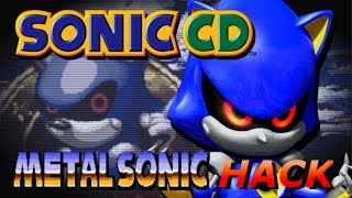 Playable Metal Sonic in Sonic CD 2011