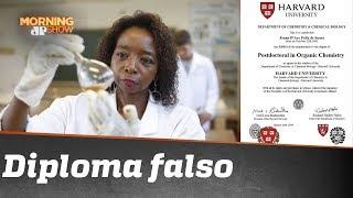Conhecida por superação, professora Joana D'Arc tem diploma de Harvard falso