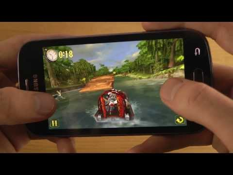 Shine Runner Samsung Galaxy Trend S7560 HD Gameplay Review