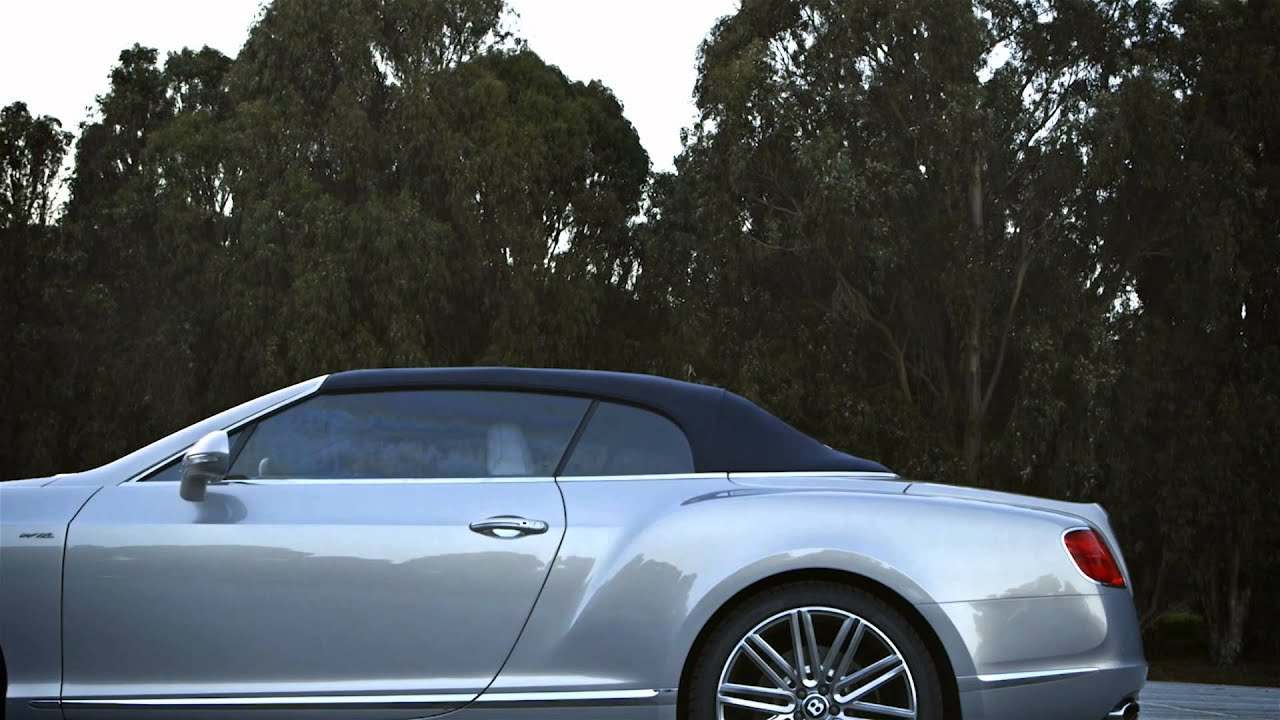 Bentley Continental Gt Speed Convertible Extreme Silver