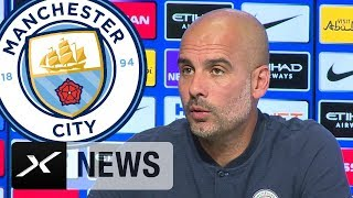 "Pep Guardiola spürt ""Druck wie in Barcelona"" | Manchester City | Premier League"