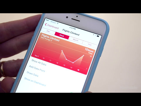 Working Out The iPhone 6 Health App | Mashable