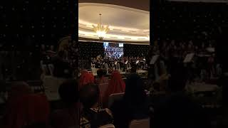 Hymne IPB oleh Agriaswara IPB diiringi Twilite Orchestra Pimpinan Addie MS, Penutupan Dies IPB 55.