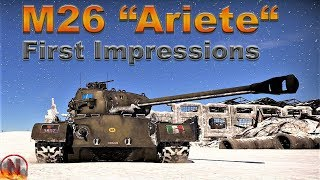"WT    M26 ""Ariete"" - First Impressions - 8 Kills Survivor"