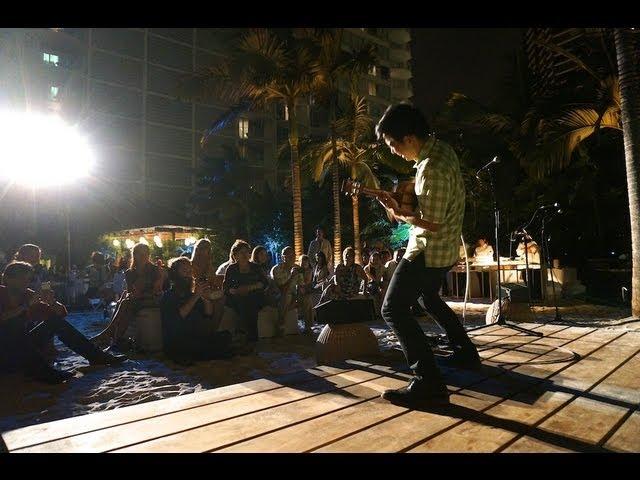 Jake Shimabukuro at 17Hawaii Launch Party