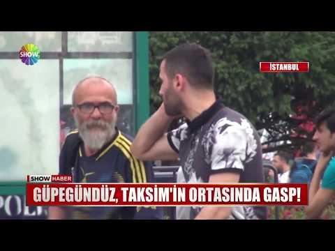 Güpegündüz, Taksim'in ortasında gasp!