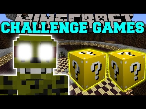 Minecraft: Spring Trap Challenge Games - Lucky Block Mod - Modded Mini-game video