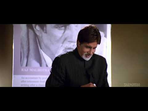 amitabh bachchan speech in baghban