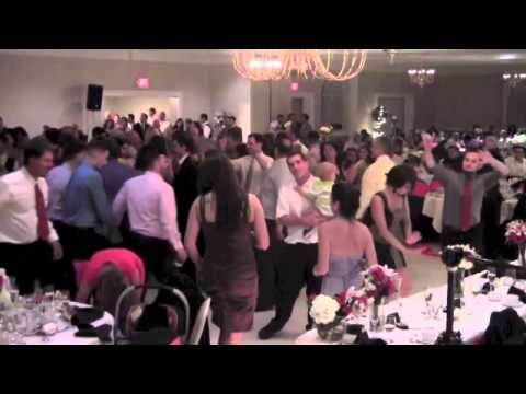 Syrian Italian Wedding with Lebanese Band Dancing Dabkeh Arabic Music Lahoud Federici