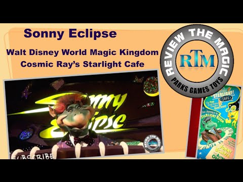 Sonny Eclipse Cosmic Ray's Starlight Cafe Walt Disney World Magic Kingdom Tomorrowland