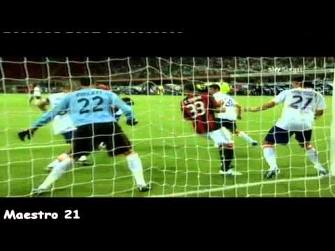 Thiago Silva Goal on Lecce - Sky Sport Commentary - 29/08/2010