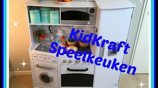 Unboxing en review: Kidkraft Speelkeuken (we maken appelflapjes :-)