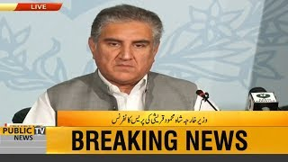 Foreign Minister Shah Mehmood Qureshi Press Conference | 20 April 2019