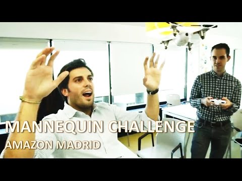 Mannequin Challenge Amazon Madrid Office - Join our team!