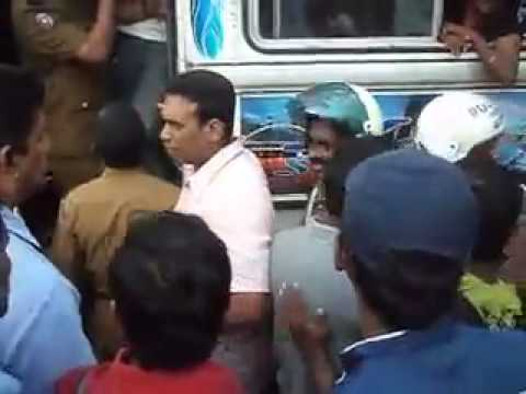 police man and young boys bus case in sri lanka