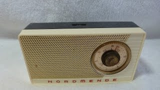 1959 Nordmende Minibox model 0/602 (made in Germany)