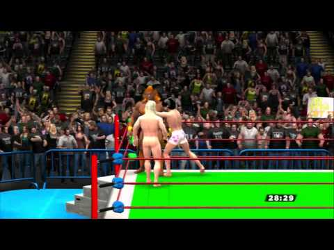 "WWE 13 CAW edits ""Pants Free"" 3 Way Extreme Rules Match: ""Naked"" Raiden vs. Ifrit vs. Vincent"