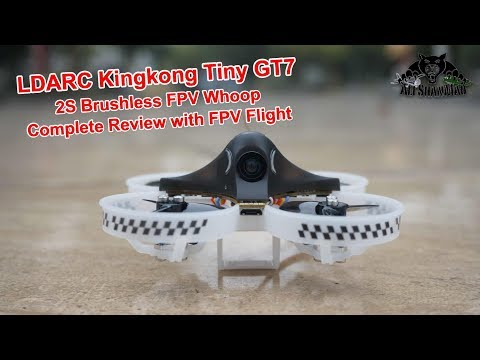 LDARC King Kong Tiny GT7 2S Brushless FPV Whoop