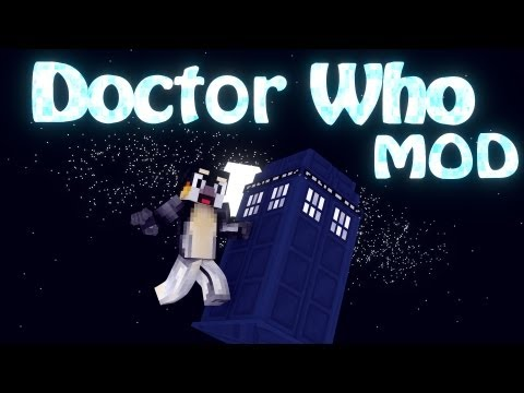 Doctor Who Mod: Minecraft Dalek Mod Showcase!