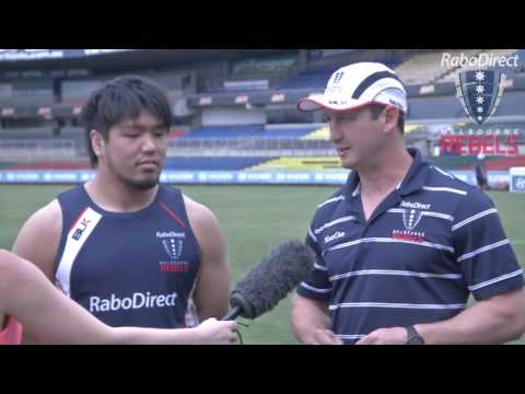 Shota Horie on his first day at Rebels | Super Rugby Video Highlights