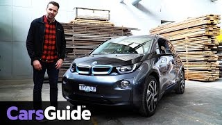 BMW i3 94Ah 2016 review | first drive video
