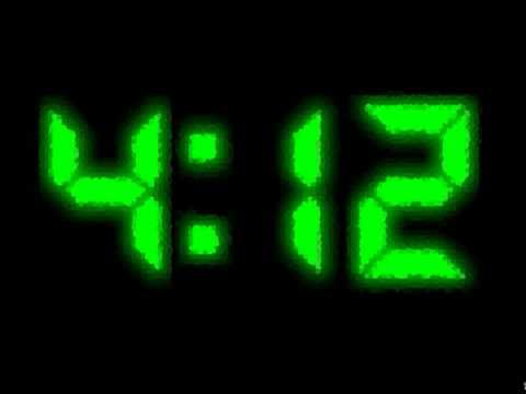 цифровые часы заставка на телефон № 56950  скачать