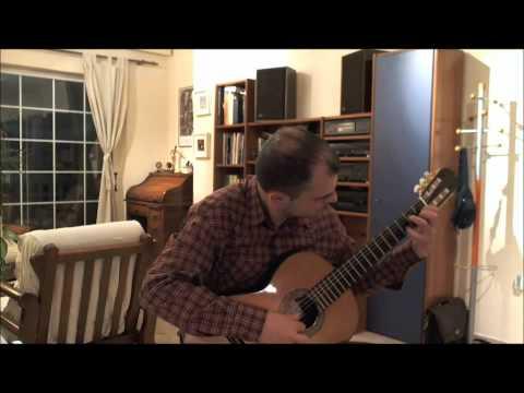 Maria Luisa Anido - ARGENTINIAN MELODY - Guitar solo Grigoris Harbas