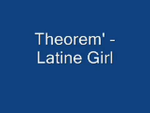 Theorem - Latin girl