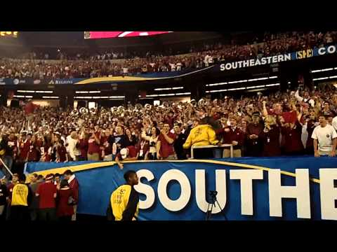 Alabama vs. Georgia 2012 SEC Championship Rammer Jammer