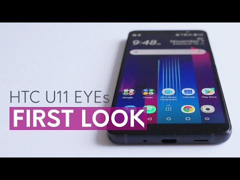 HTC U11 EYEs first look - features and specs