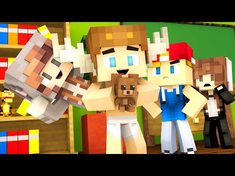 Minecraft Kindergarten - NEW FRIENDS, PSYCHOS, AND BULLIES ?! (Minecraft Roleplay) #1